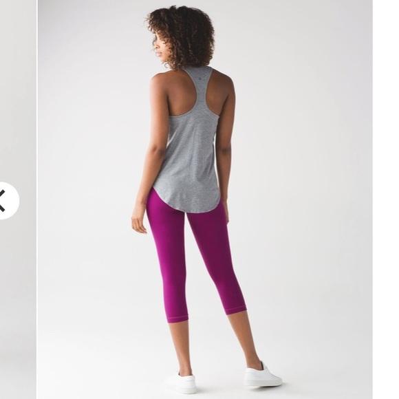 lululemon athletica Pants - Lululemon align crop deep fushia size 10 legging